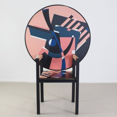 Zabro Table / seat by Alessandro Mendini for Zanotta, 1984