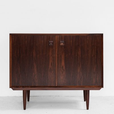 Midcentury Danish cupboard with 2 doors in rosewood by Brouer, 1960s