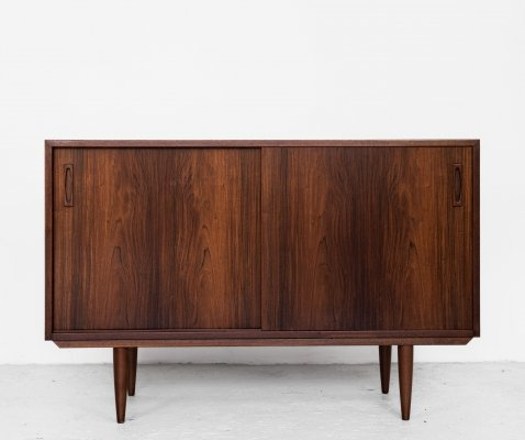 Midcentury Danish smaller sideboard in rosewood, 1960s