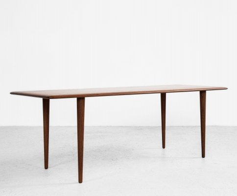 Midcentury Danish coffee table in teak by Peter Hvidt & Orla Mølgaard-Nielsen, 1960s