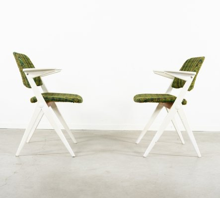 Set of two Bengt Ruda 'Triva' armchairs for Nordiska Kompaniet, 1960s