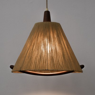 Type 324 hanging lamp by Temde, 1960s