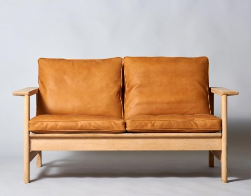 Model 2452 sofa by Soren Holst for Fredericia Stolefabrik, 1980s