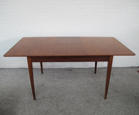 Vintage dining table by Louis van Teeffelen for Webe, 1960s