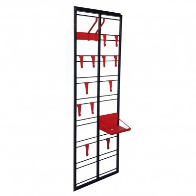 Wall mounted 'toonladder' coat rack by De Vries & Rijenga for Pilastro