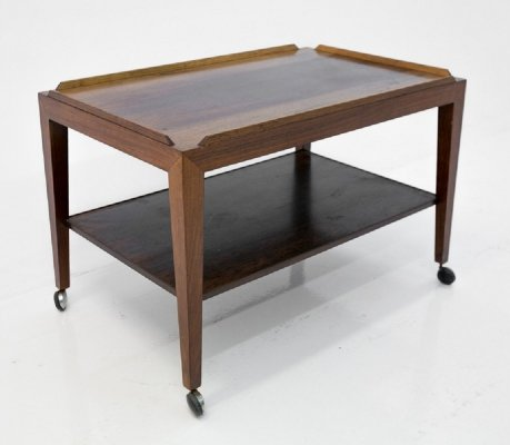 Rosewood danish serving trolley, 1960