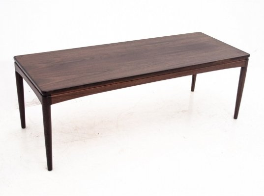 Rosewood Danish coffee table, 1970s
