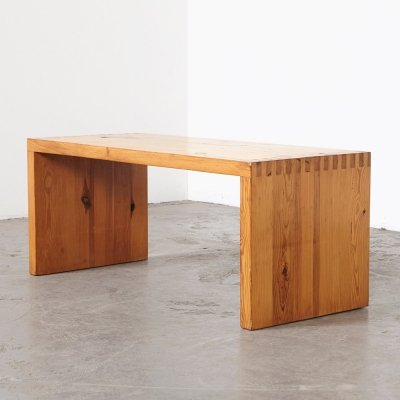 Ate van Apeldoorn Pine Coffee Table for Houtwerk Hattem, 1960s