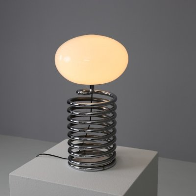 Spiral table lamp by Ingo Maurer for M-Design, 1960s