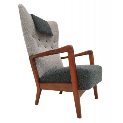 Danish design arm chair by Fritz Hansen, 1950s