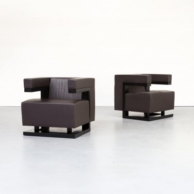 Pair of Walter Gropius 'F51' armchairs for Tecta, 1970s