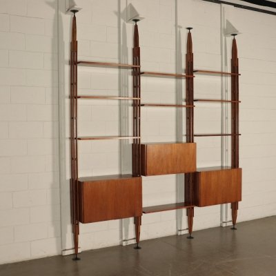 1960s LB7 Bookcase by Franco Albini for Poggi