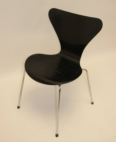 Butterfly model 3107 chair by Arne Jacobsen for Fritz Hansen, 1960s