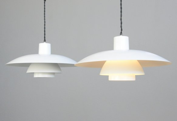 Model PH4 Pendant Lights by Poul Henningsen for Louis Poulsen, Circa 1960s