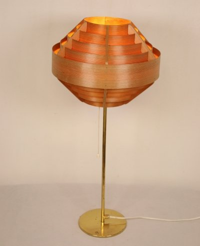Vintage B160 table lamp by Hans-Agne Jakobsson by Hans Agne Jakobsson AB, Markaryd 1950s