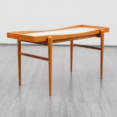 Vintage 1950s coffee table in cherrywood