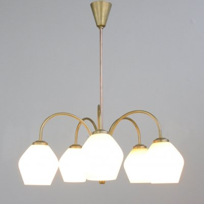 Art Deco Chandelier by Fog & Morup, Circa 1930s