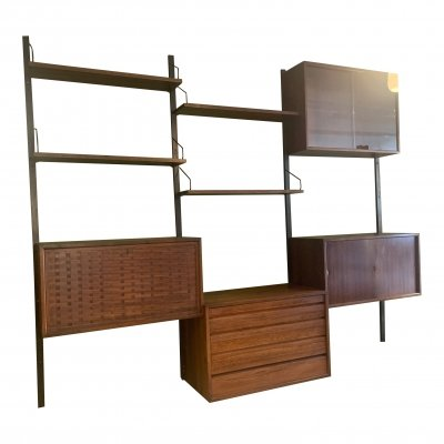 Rosewood Poul Cadovius wall unit, 1960's