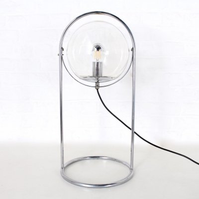 Tubular structure floor lamp, 1970's