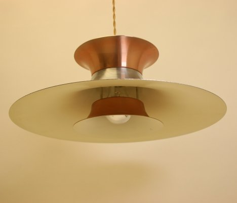 Danish design hanging lamp, 1970s