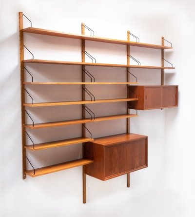 Royal System wall unit by Poul Cadovius for Cado, 1960s