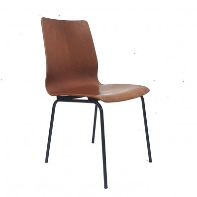 Mid century Euroika side chair by Friso Kramer for Auping, Netherlands 1960s