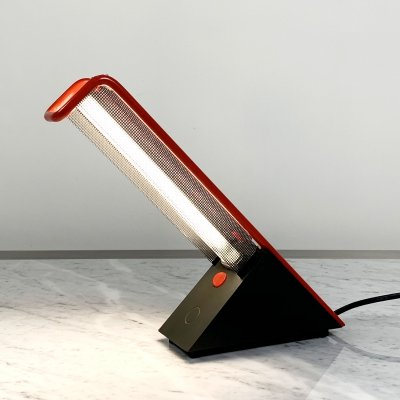 Geometric Neon Table Lamp from Philips, 1980s