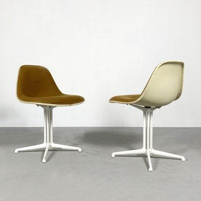 Set of 2 La Fonda Dining Chairs by Charles & Ray Eames for Herman Miller, 1970s