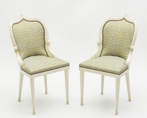 Rare set of four Garouste & Bonetti 'Palace' dining chairs, 1980s
