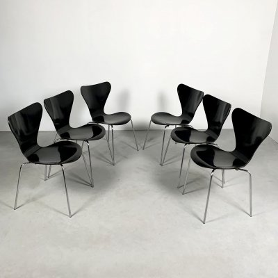 Butterfly Chairs by Arne Jacobsen for Fritz Hansen, 1970s