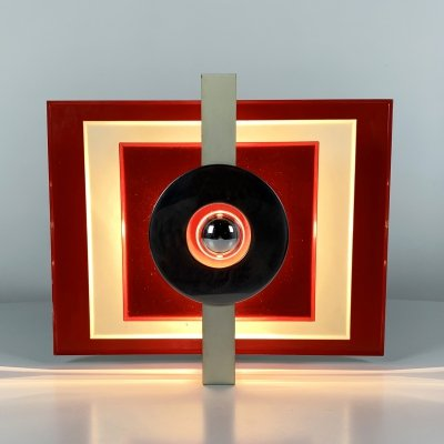 Geometric Ceiling Light, 1980s