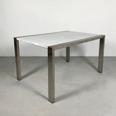Etra Marble Dining Table by Gae Aulenti for Snaidero, 1990s