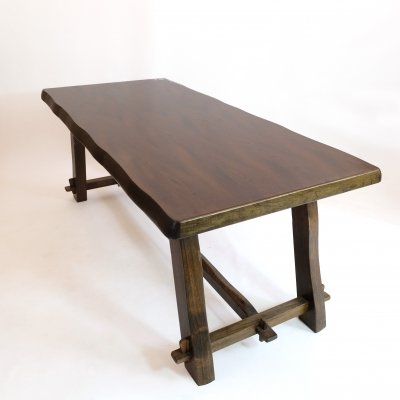 Large dining table by Aranjou, 1960s