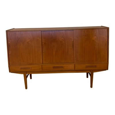 Danish highboard / sideboard, 1960's