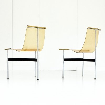 Pair of T-Chairs by William Katavolos, Ross Littell & Douglas Kelley