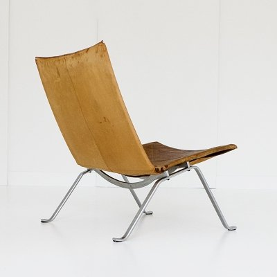 PK 22 lounge chair by Poul Kjærholm for E. Kold Christensen, 1950s