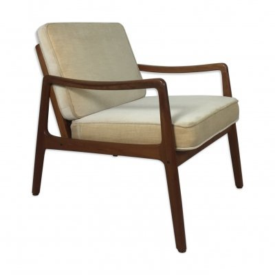 Danish teak easy chair by Ole Wanscher