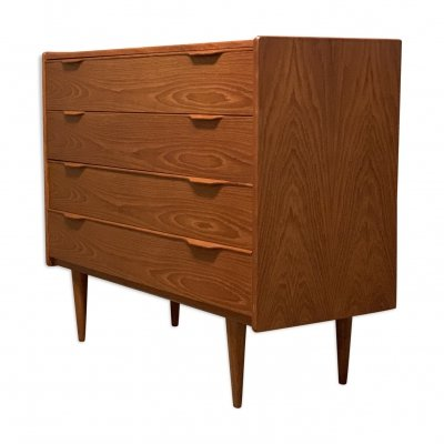 Danish MidCentury Teak Chest of Drawers by Henning Jørgensen, 1960s