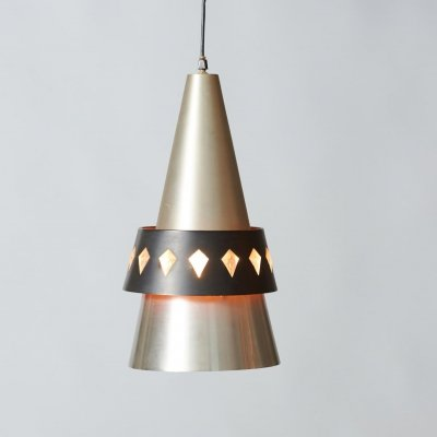 Corona Pendant Lamp by Jo Hammerborg for Fog & Morup, 1960s