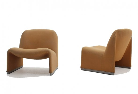 Pair of Alky armchairs Giancarlo Piretti for Castelli, 1960s