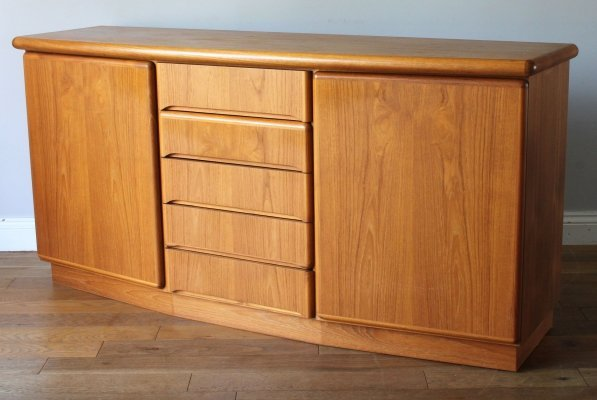 Danish Skovby Teak Sideboard with Drawers