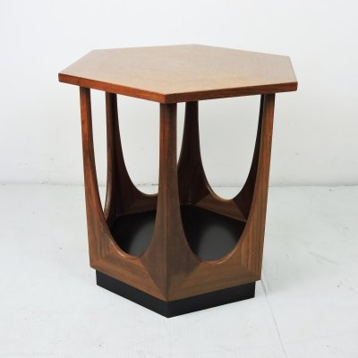 Hexagonal Teak Side Table by G-Plan, 1960s