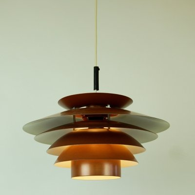 Scandinavian Modern Copper 'Nice' Pendant Lamp by Design Light Denmark