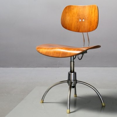 Swivel Chair by Egon Eiermann for Wilde+Spieth
