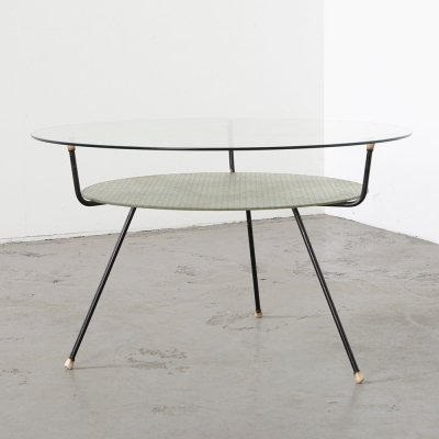 W.H. Gispen 509 Coffee Table for Kembo, 1950s