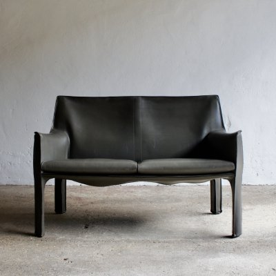 414 CAB Sofa by Mario Bellini for Cassina, 1980s