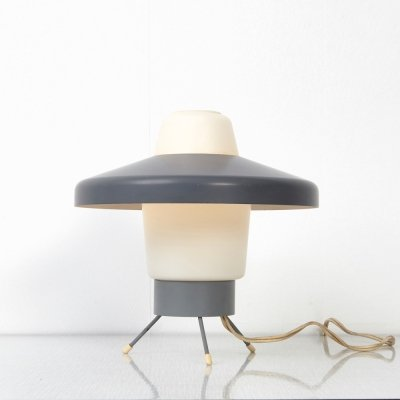Rare Louis Kalff NX35 Table Lamp for Philips, 1950s
