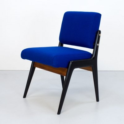 1940s Blue Dining Chair by Robin Day for Hille