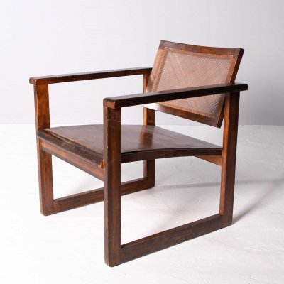 Bauhaus armchair by Peter Keler, 1920s