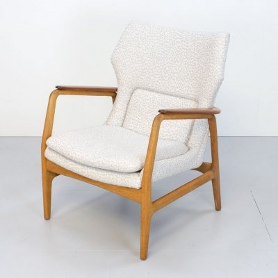 1960s Wingback Armchair by Aksel Bender Madsen for Bovenkamp